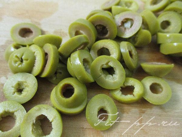 Оливки для диетического соуса