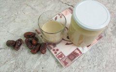 финики с молоком польза и вред