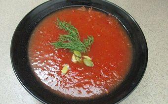 рецепт диетического томатного супа