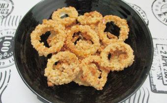 рецепт луковых колец в духовке