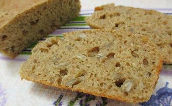 рецепт хлеба с арахисом и семечками