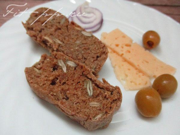 домашний ржаной хлеб с семенами тыквы
