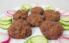рецепт диетических котлет с говядиной с пошаговыми фото