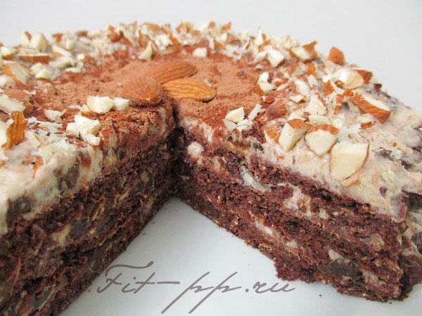 рецепт диетического торта на овсяной муке