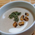 Молочный суп с грибами реце