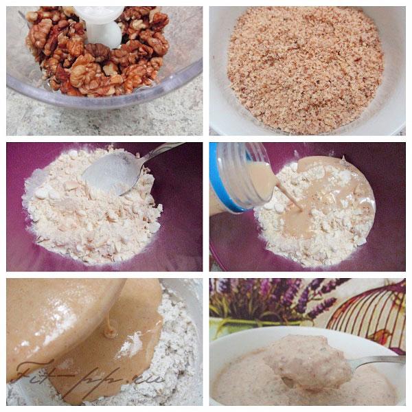 крем с орехами