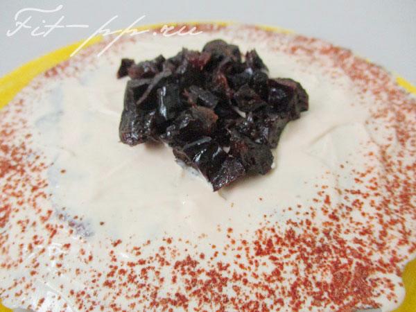 украшение диетического торта