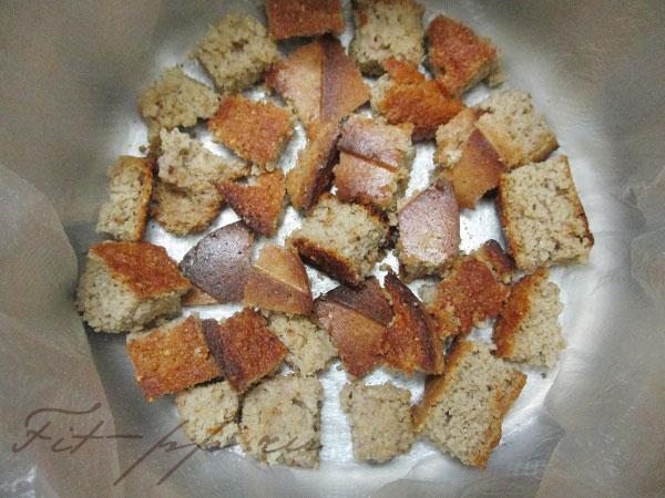 сборка диетического торта