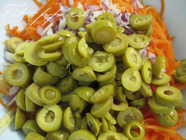 оливки для салата