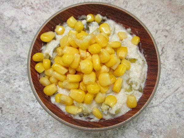 кукуруза для соуса