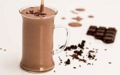 Диетический шоколадный коктейль