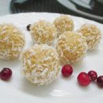 Рецепт конфет из кокосовой стружки с пошаговыми фото