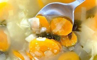 суп с капустой и морковью