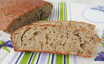 Хлеб с кунжутом в духовке рецепт с пошаговыми фото
