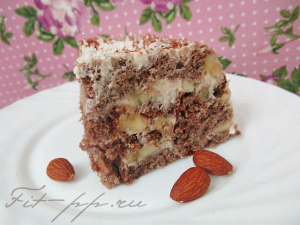 Творожный торт без сахара