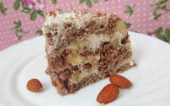 Торт без сахара рецепт с пошаговыми фото