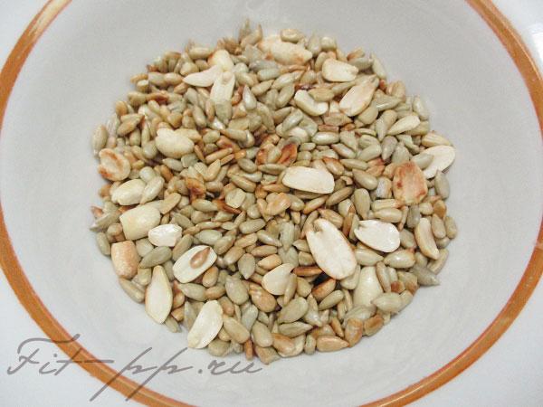 семечки и орешки для Халвы без сахара