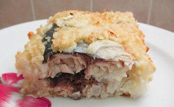 Рыбная запеканка в духовке рецепт с пошаговыми фото