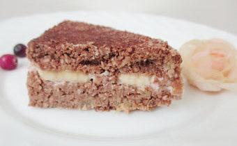 диетический тортик с кокосом
