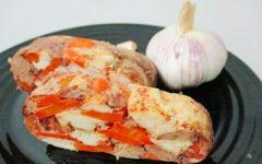 куриный рулет отварной рецепт с пошаговыми фото