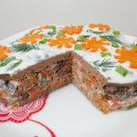 диетический печеночный торт рецепт с фото