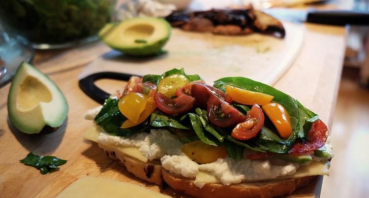 ПП бутерброд с пастой