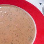 Суп пюре из шампиньонов в мультиварке