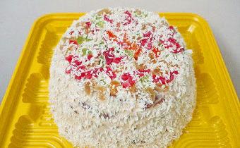 пп кокосовый торт