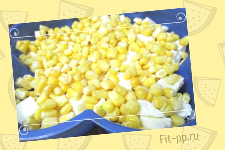 кукуруза для пирога