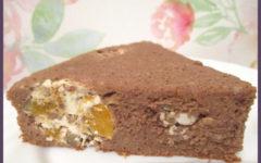 шоколадный пирог с творожными шариками рецепт с пошаговыми фото.