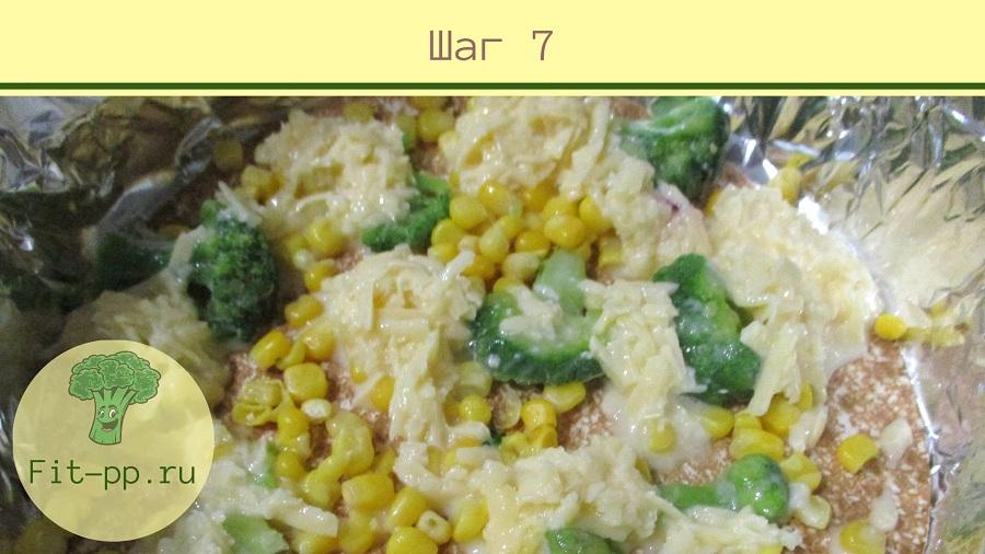 овощи для пп пирога из лаваша
