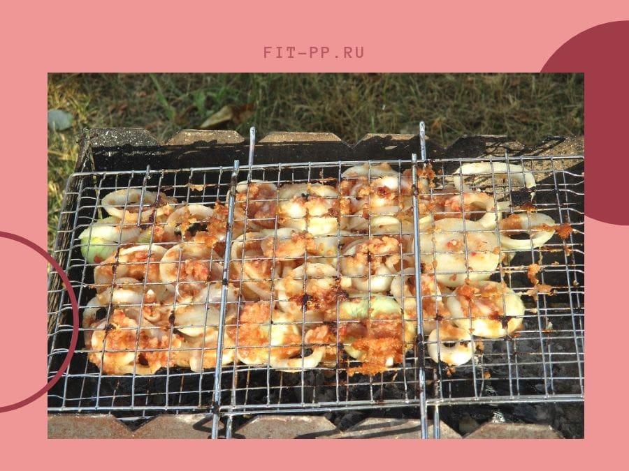готовим курицу на костре