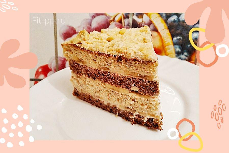 торт из пп бисквита