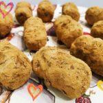 пп пирожное картошка с орехами. рецепт с фото