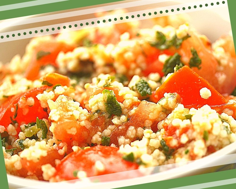 рецепт салата с кускусом и помидорами с пошаговыми фото
