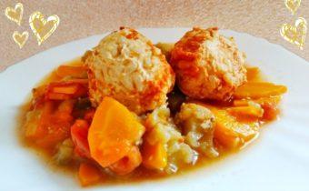куриные тефтели с рисом. рецепт с пошаговыми фото
