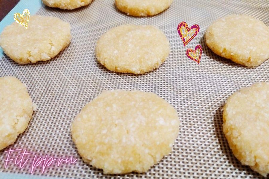 кокосовое печенье для правильного питания