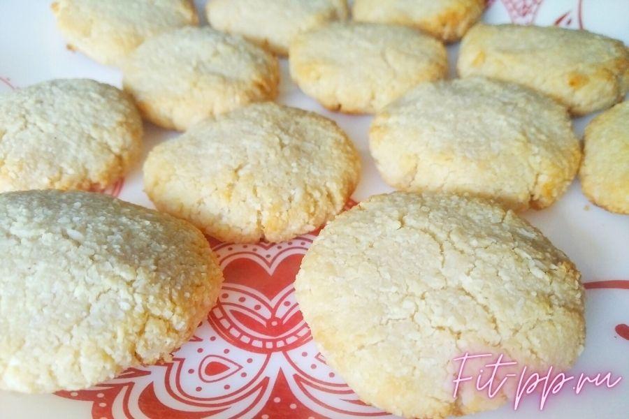 рецепт печенья из кокосовой муки