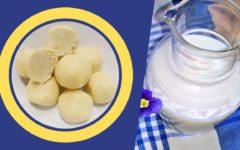 конфеты для правильного питания из сухого молока
