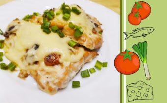 Филе горбуши с сыром в духовке рецепт с пошаговыми фото