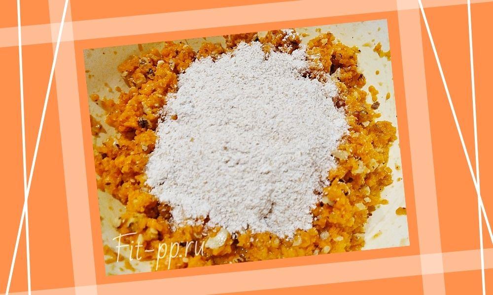 диетические котлеты из моркови